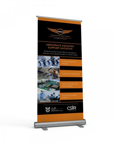 CSIR AISI Pull up banners