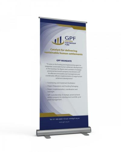 GPF Pull up banner